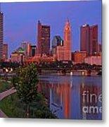 D2l38 Columbus Ohio Skyline Photo Metal Print