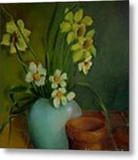 Daffodils                   Copyrighted Metal Print
