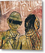 Daft Punk  Metal Print by Jackson