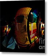 Daft Punk Pharrell Williams  Metal Print by Marvin Blaine