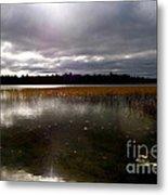 Dahler Lake In Emily Minnesota Metal Print