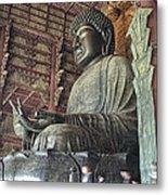 Daibutsu Buddha Of Todai-ji Temple Metal Print