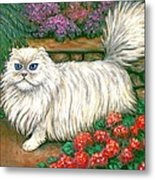 Dainty The Cat Metal Print