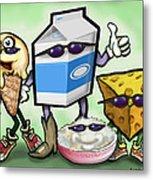 Dairy Food Group Metal Print