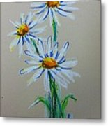 Daisies For You Metal Print