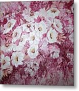 Daisy Blush Metal Print