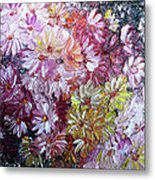 Daisy Mix   Sold Metal Print