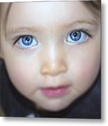 Dakota's Eyes Metal Print
