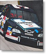 Dale Earnhardt At Bristol Metal Print