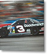 Dale Earnhardt Goodwrench Chevrolet Metal Print