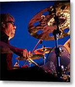 Dale Keeney Of The Fabulous Kingpins Metal Print by David Patterson