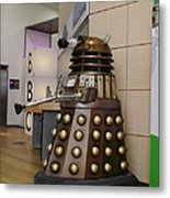 Dalek At The Bbc 2 Metal Print