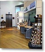 Dalek At The Bbc Metal Print