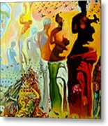 Dali Oil Painting Reproduction - The Hallucinogenic Toreador Metal Print