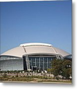 Dallas Cowboys Stadium Metal Print