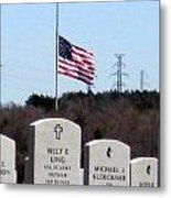 Dallas Fort Worth Memorial Cemetery Metal Print