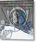 Dallas Mavericks Metal Print