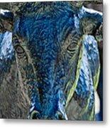 Dallas Pioneer Plaza Cattle Metal Print