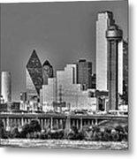 Dallas The New Gotham City  Metal Print