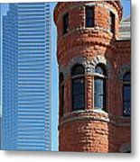 Dallas West End Old Red Museum Metal Print