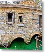 Dalmatian Village Traditional Stone Watermill Metal Print