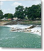 Dam At Batesville Arkansas Metal Print by Douglas Barnett