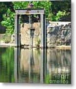 Dam Gate Metal Print