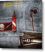 Dambusters Bite Metal Print