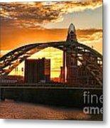 Dan C Beard Bridge 9917 Metal Print