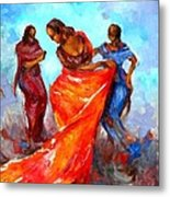 Dance 3 Metal Print by Negoud Dahab