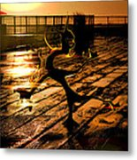 Dance Dance Dude Metal Print by Anthony Bean