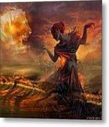 Dance In The Fire Metal Print