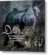 Dance Neutral Colors Metal Print