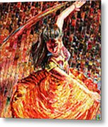 Dance Of Colors Metal Print