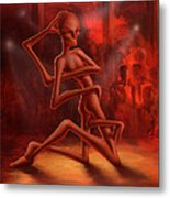 Dance Of The Medusa Metal Print by Achim Prill