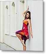 Dance On The Wall Metal Print