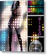 Dance Series - Disco Metal Print by Linda Lees