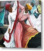 Dance The Pique  2 Metal Print