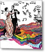 Dance Till The End Of Time Metal Print