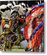 Dance To The Beat Of The Drum Metal Print