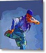 Dancer 32 Metal Print