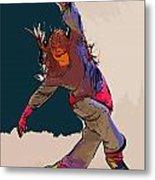 Dancer 35 Metal Print