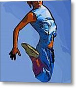 Dancer 58 Metal Print