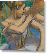 Dancer Adjusting Her Shoulder Metal Print