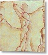 Dancers - 10 Metal Print