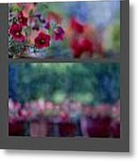 Dancing Colours Metal Print
