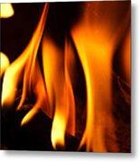 Dancing Flames Metal Print