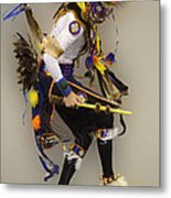 Pow Wow Dancing For The Spirit Metal Print
