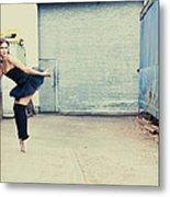 Dancing In A Junk Yard Metal Print