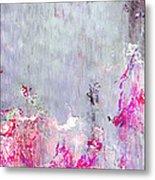 Dancing In The Rain - Abstract Art Metal Print